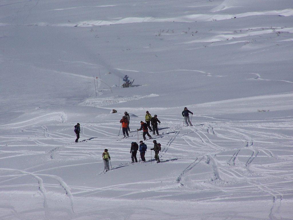 esquiar a La Hoya