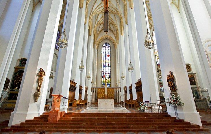 Catedral de Múnich: aspectos destacados del interior