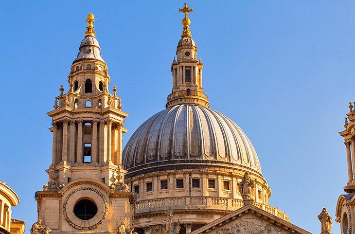La magnífica cúpula de la catedral