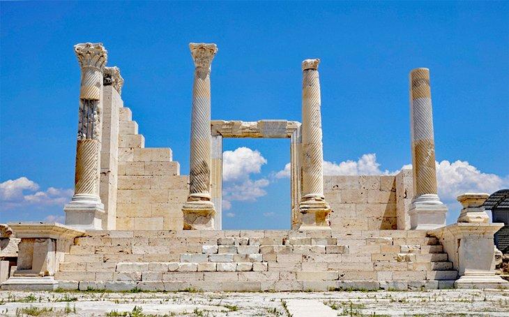 Ruinas en Laodikeia